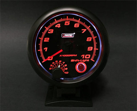 "3 3/4"" Tachometer with built in shift light"