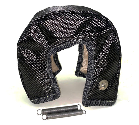 Turbo Blanket Heat Shield - Carbon Fiber T3