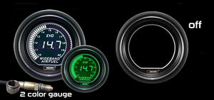 "2-1/16"" EVO Wideband White/Green Digital Air Fuel Ratio kit-"