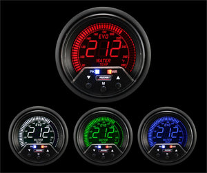 "2-3/8"" Premium Evo Electrical Water Temperature Gauge"