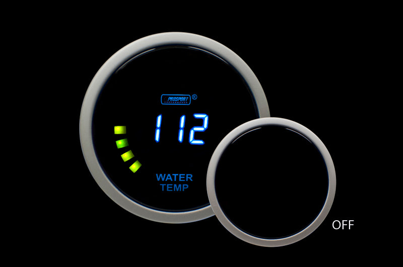 "2-1/16"" Digital Water Temperature Gauge"