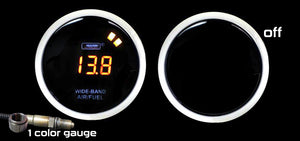 "2-1/16"" Wideband Digital Air Fuel Ratio kit-Amber LCD"