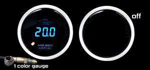 "2-1/16"" Wideband Digital Air Fuel Ratio kit-Blue LCD"