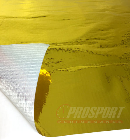 Reflective a Gold heat tape sheet