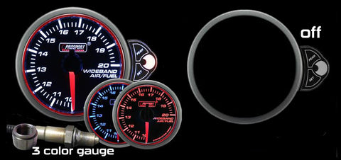 "2-1/16"" Halo Wideband Air fuel ratio Gauge"
