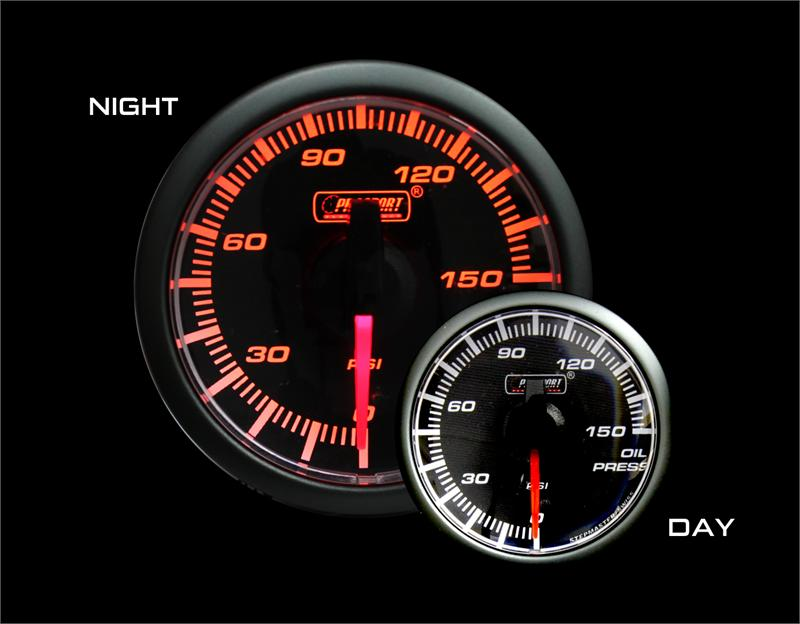 45mm Oil Pressure Gauge