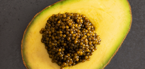 Avocaviar? That's right! Savor a ripe avocado with fine caviar from The Caviar House and elevate your breakfast, keto style!