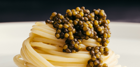 Upgrade a simple spaghetti dish with fine caviar from The Caviar House. A delicious caviar dish for pasta lovers.