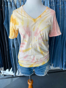 Vintage Tie Dyed T-shirt Small