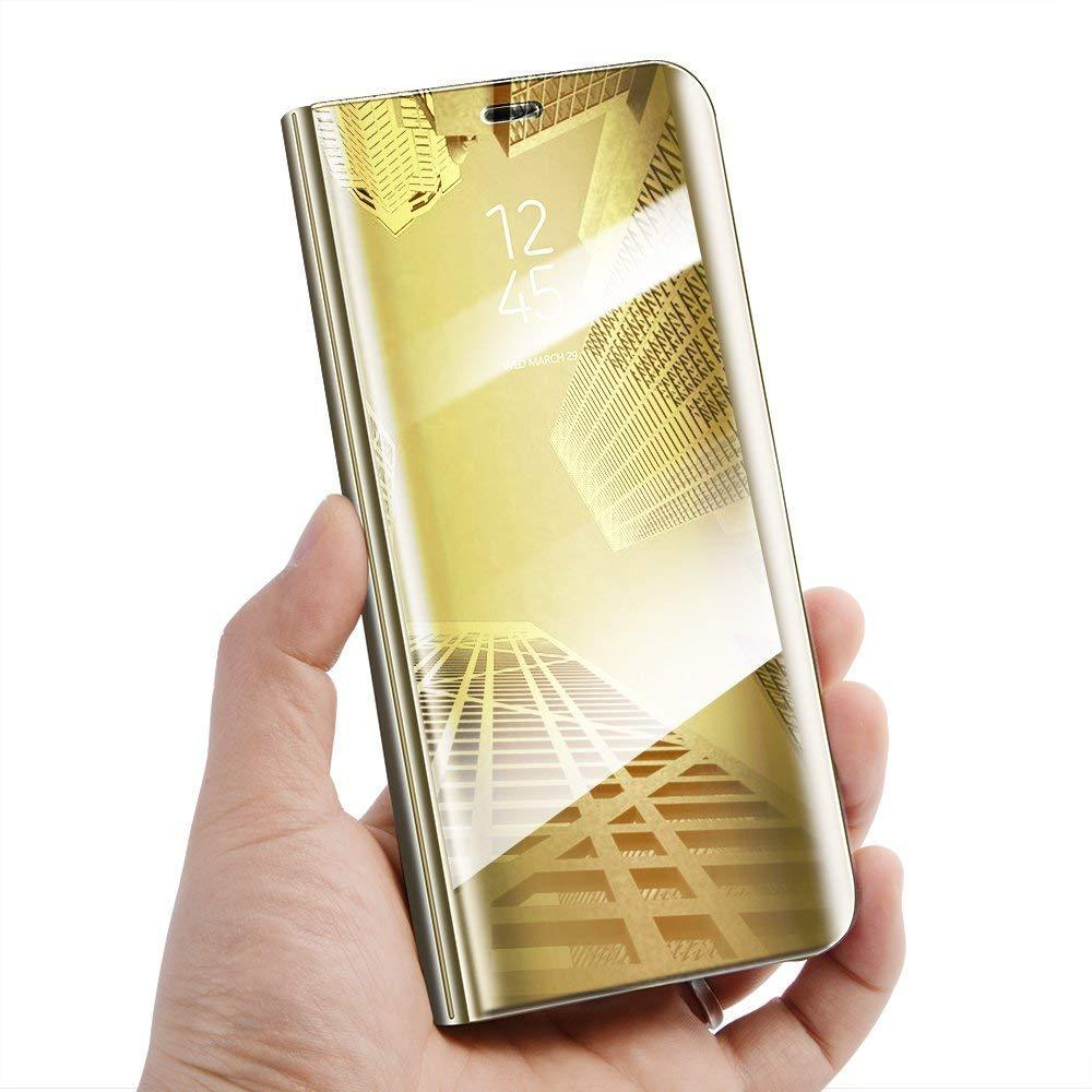 Galaxy A40 (2019) Mirror Shine Electroplating Flip Case