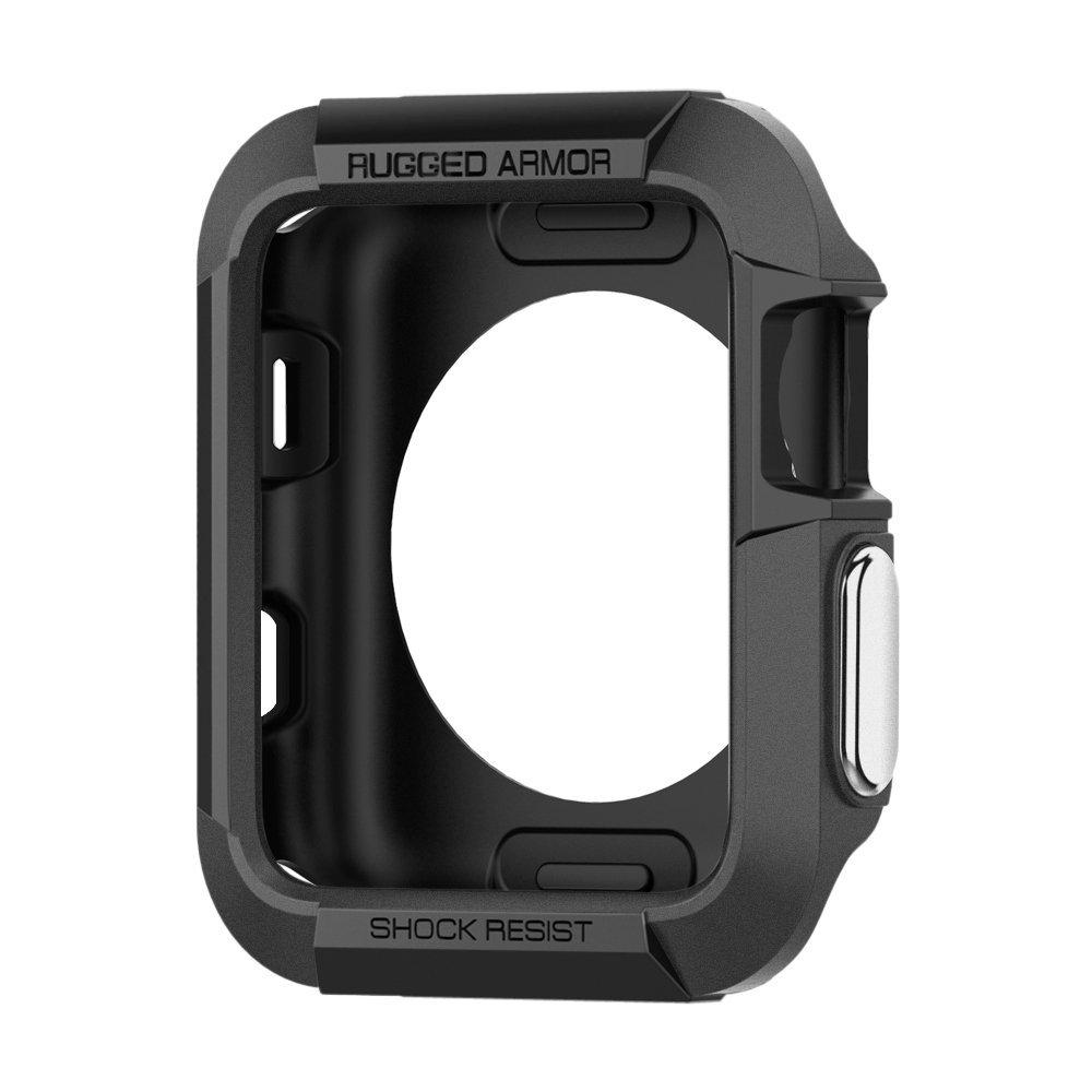 Rugged Armor Apple Watch Case for (42/44)mm Apple Watch Series 4/3/2/1 & Cellular