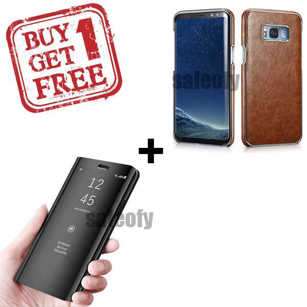 Buy 1 Get 1 FREE: Galaxy S8(+) Plus Electroplating Plus Mirror Shine Cover
