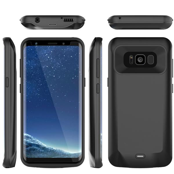 Galaxy S8 Plus Battery Case Charger Case- 5500mAh