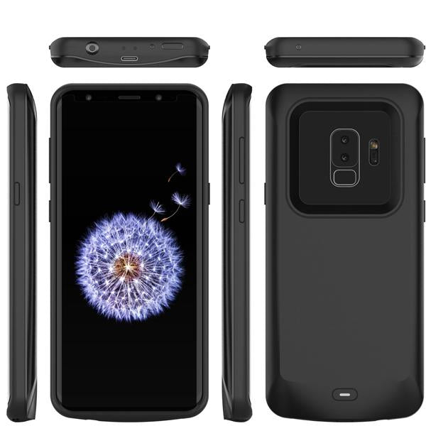Galaxy S9 Plus Battery Case Charger Case- 5000 mAh  (With 6 Months Warranty)