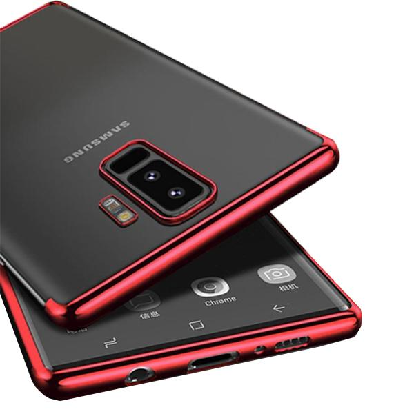 Red Platinum Cover Case for Samsung Galaxy S9