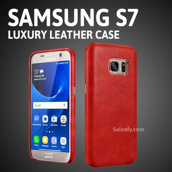 S7 Liquidmetal Back Case Cover - Red