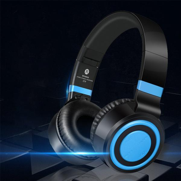 ST9 Headphones Bluetooth High Bass, High Treble Headphones