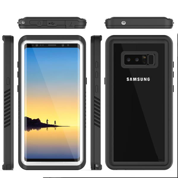 Shockproof Waterproof Cover Case for Samsung Note 8