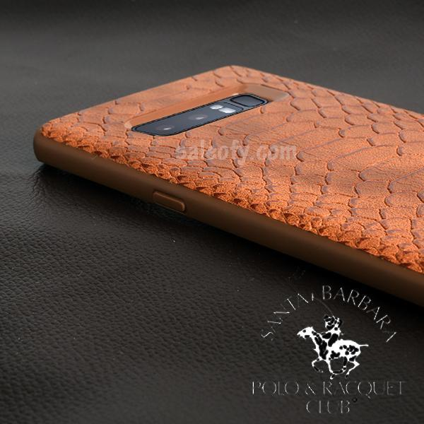 Brown Crocodile Case for Samsung Note 8