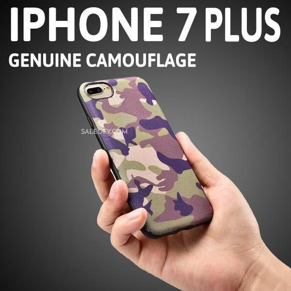 iPhone 7 Plus Military Jungle Camouflage Back Case Cover