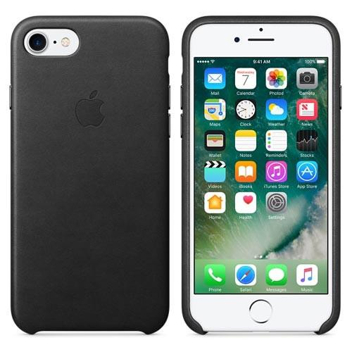 "iPhone 8 PU Cover Case for Apple - Black [4.7""]"