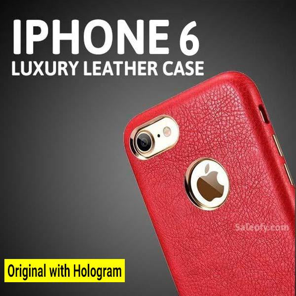 "iPhone 6s/6  Cover with Metallic Logo Display Case for Apple [4.7""] - Red"
