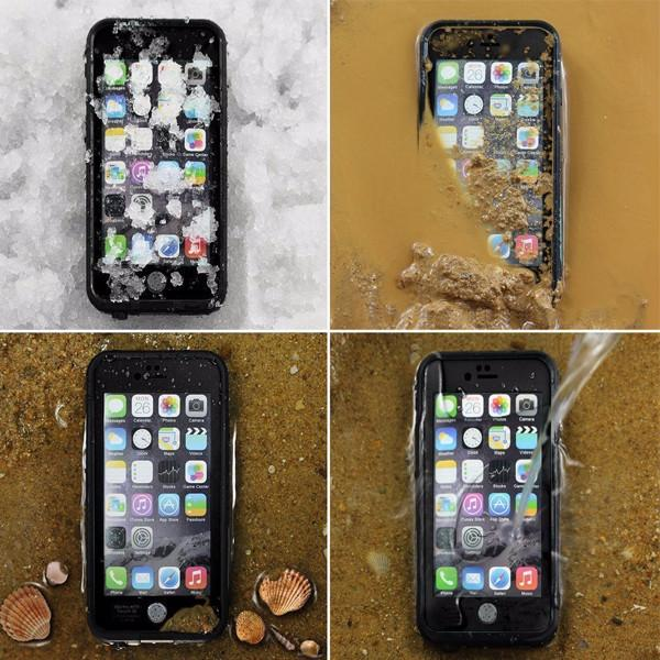 iPhone 7+ Plus WATERPROOF/ SHOCKPROOF/ SNOWPROOF ARMOR COVER CASE - BLACK