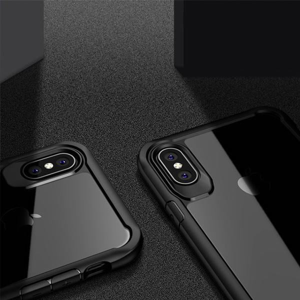 Black Cover Case Cover for Apple iPhone X/XS