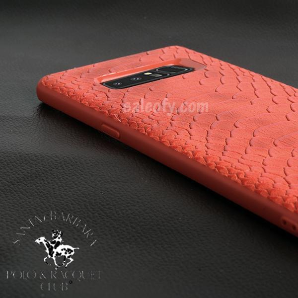 Red Crocodile Case for Samsung Note 8