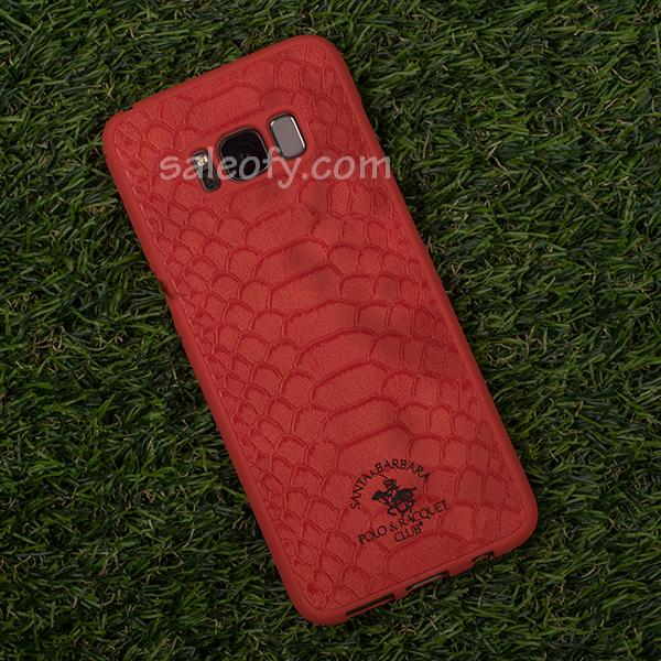 Red Crocodile Cover Case for Samsung Galaxy S8 Plus