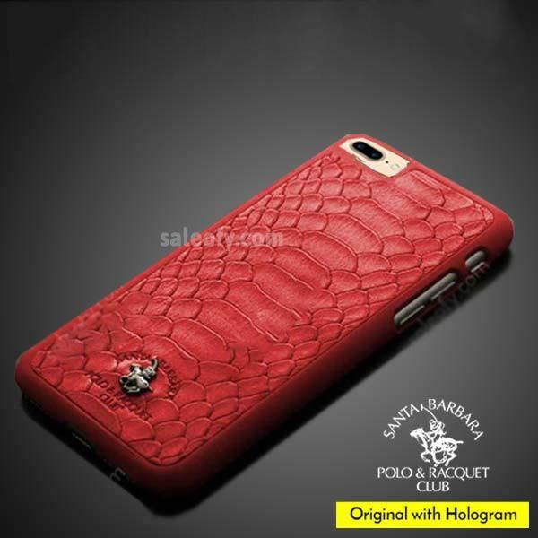 iPhone 8 Plus Jockey PC Case Cover for Apple - Red
