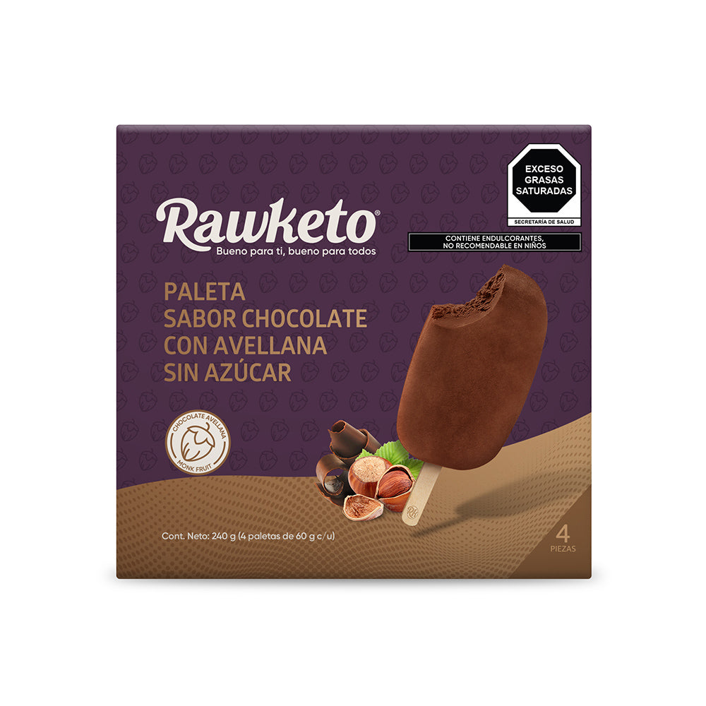 Paletas - Chocolate Con Avellana