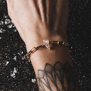 Unchain my Heart - SET Armband & Halskette & Ohrringe GOLD