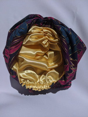Floral Royalty Turban - FLO-02