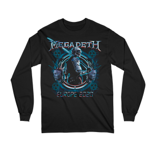 Dystopia Europe 2020 Date Back Long Sleeved Tee