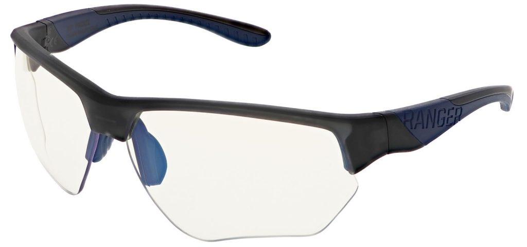 Hunting sunglasses with gray lens for rabbit and squirrel hunting.   RE Ranger
