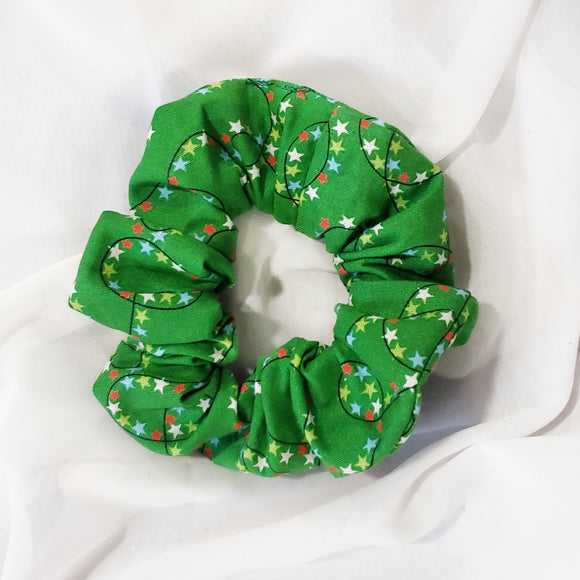 Tree Lights Scrunchie