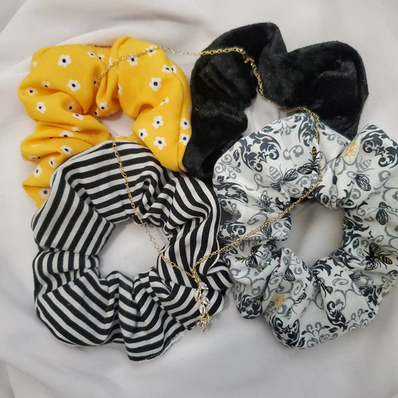 The Hive Scrunchie 4 Set