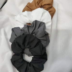 Neutrals Scrunchie Set 4 Pack