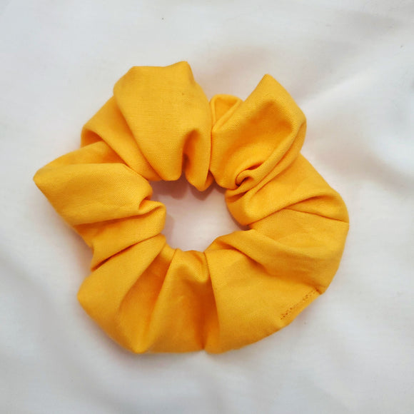 Yellow Sun Scrunchie