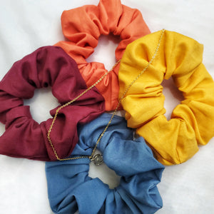 Sunrise Scrunchie 4 Set