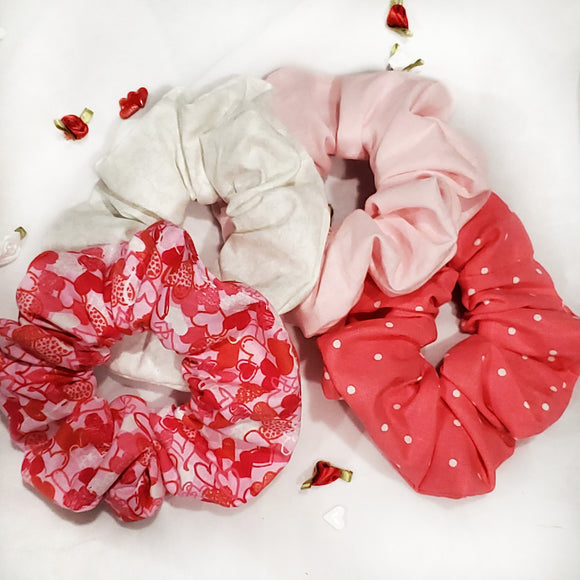 My Love Scrunchie 4 Set
