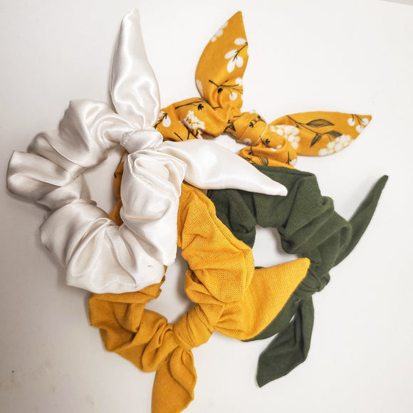 Woodland Scrunchie 4 Set