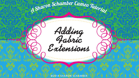Sharon Schamber - Adding Fabric Extensions