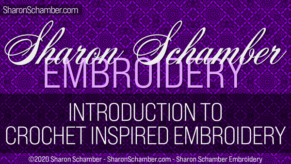 Introduction to Crochet Inspired Embroidery