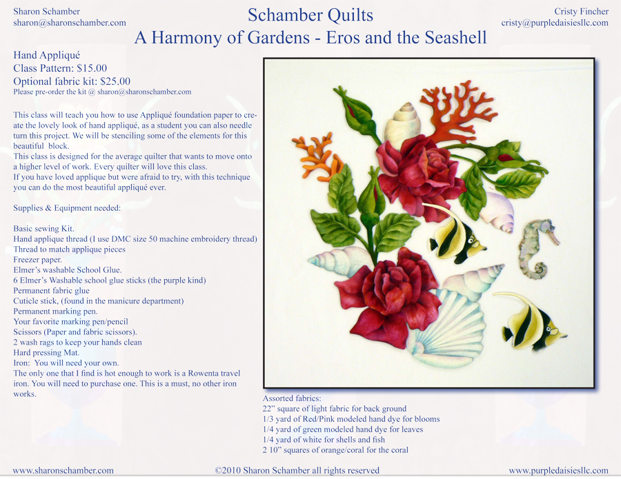 A Harmony of Gardens - Eros and the Seashell
