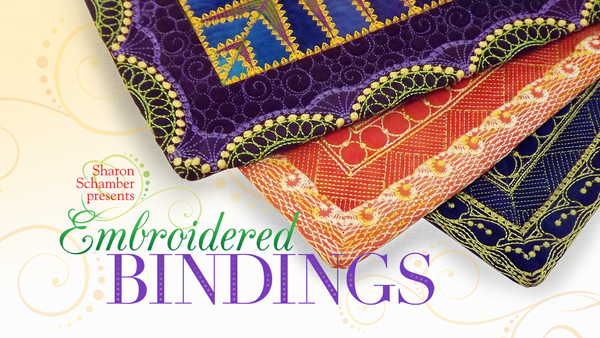 Embroidered Bindings