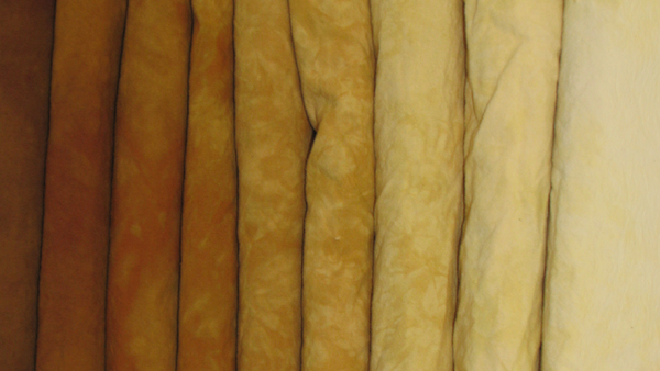 Hand Dying Fabric: Gradients