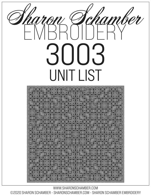3003 - Square - Crochet Inspired Embroidery