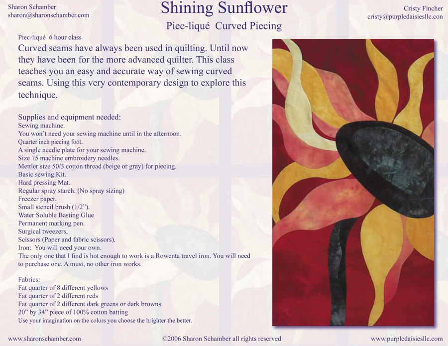 Shining Sunflower